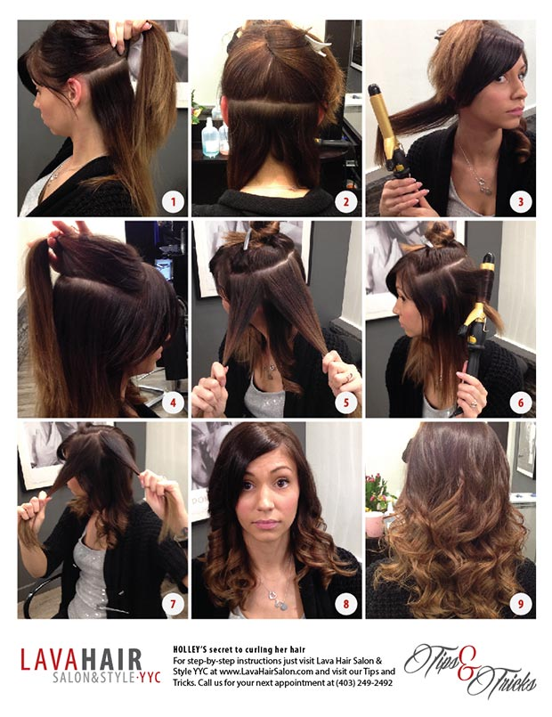 ... Photos - How To Curl Your Hair Tips For Curling Long Hair Seventeen